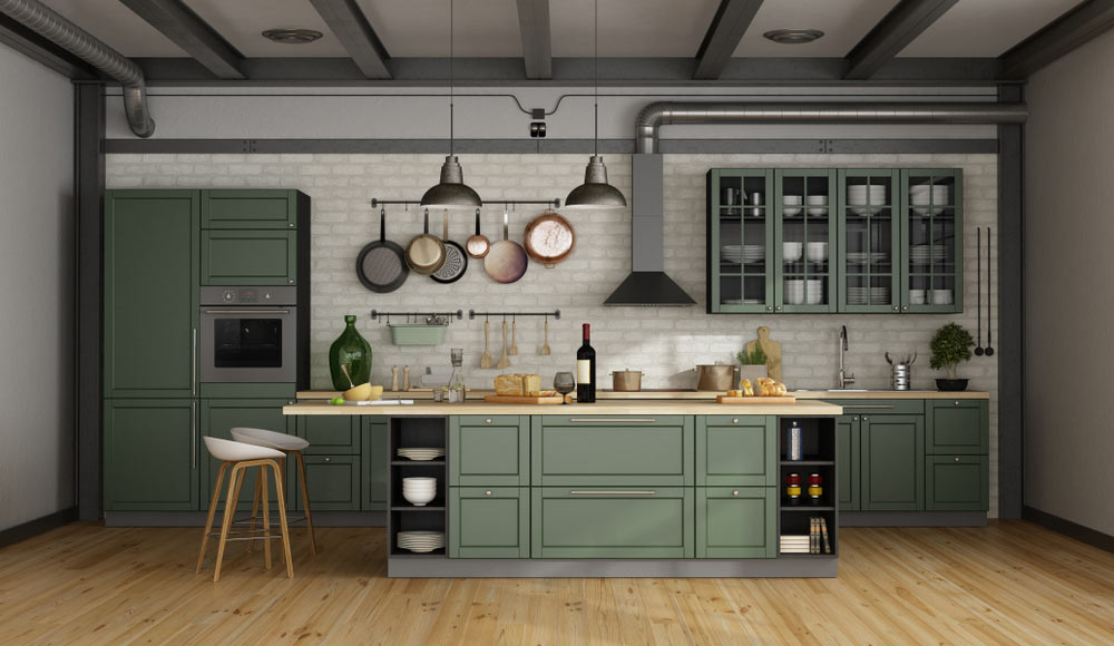Modern take on Edwardian kitchen design